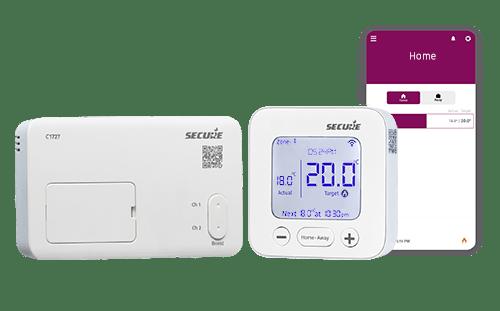 C1727 smart thermostat / PTD