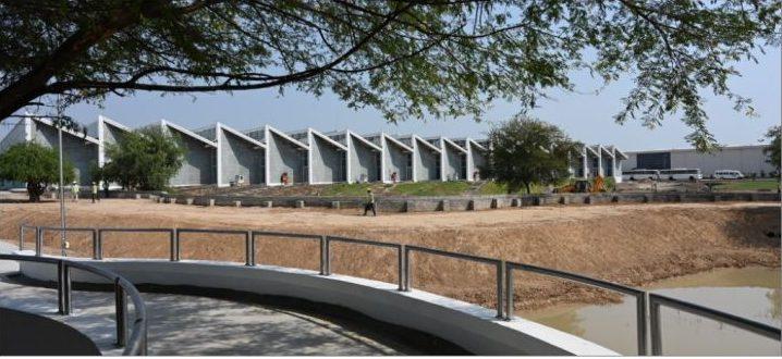 Sandand site gains green building award