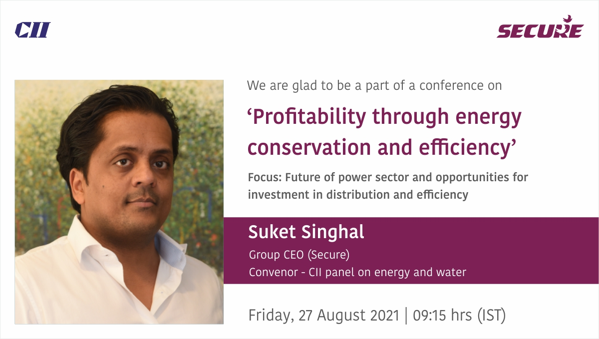Profitability through energy conservation and efficiency